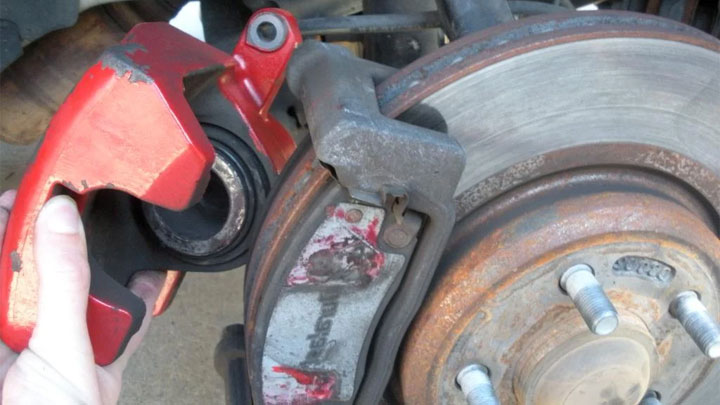 remove caliper assembly
