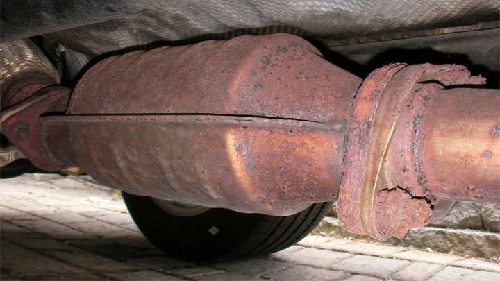 rusted bolt