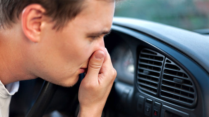 smell from car vent