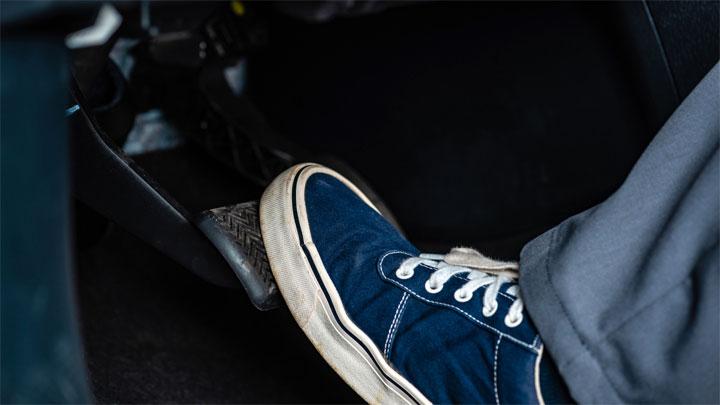 soft brake pedal