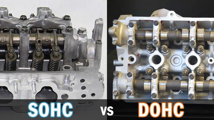 SOHC vs DOHC engine