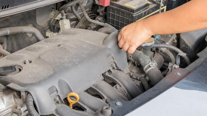 spark plug engine access