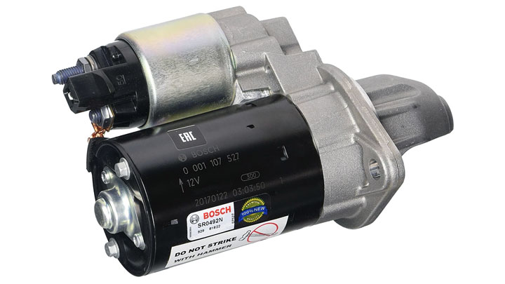 starter motor replacement cost