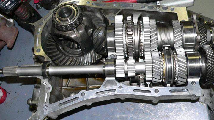 Subaru WRX PPG straight cut gear upgrade
