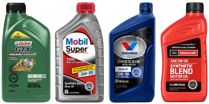 synthetic blend motor oil