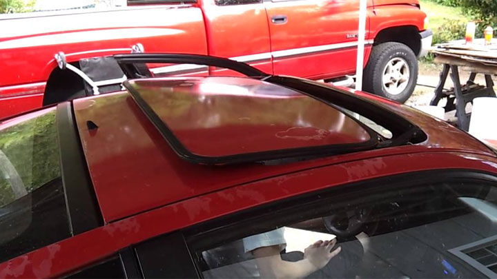 tilt-n-slide sunroof
