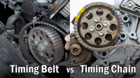 Timing Belt vs Timing Chain (What's the Difference?)