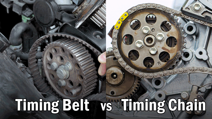 timing belt vs timing chain