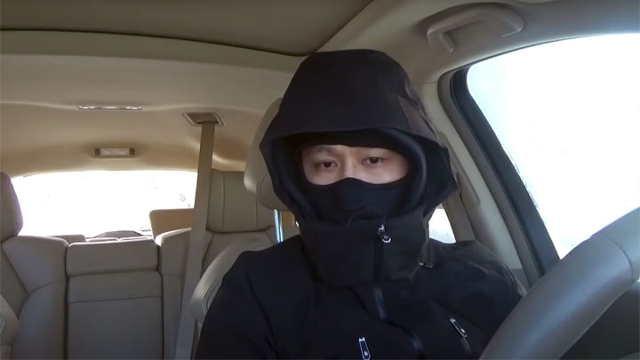 too cold in car