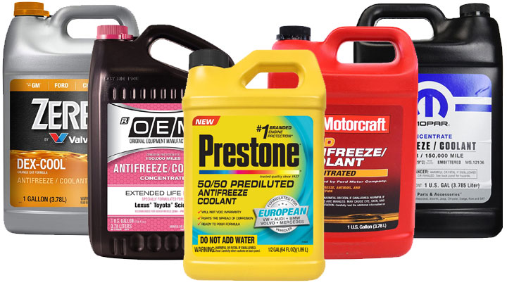 Understanding the Different Types (and Colors) of Coolant
