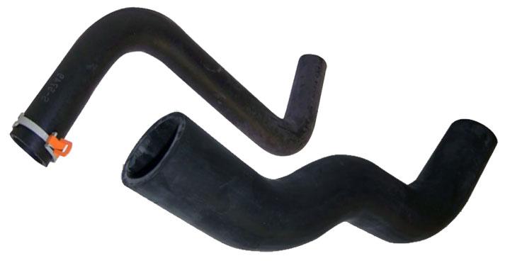 upper vs lower radiator hose