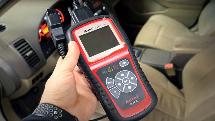using an OBD2 scanner