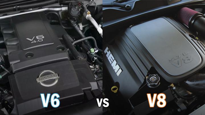 v6 vs v8