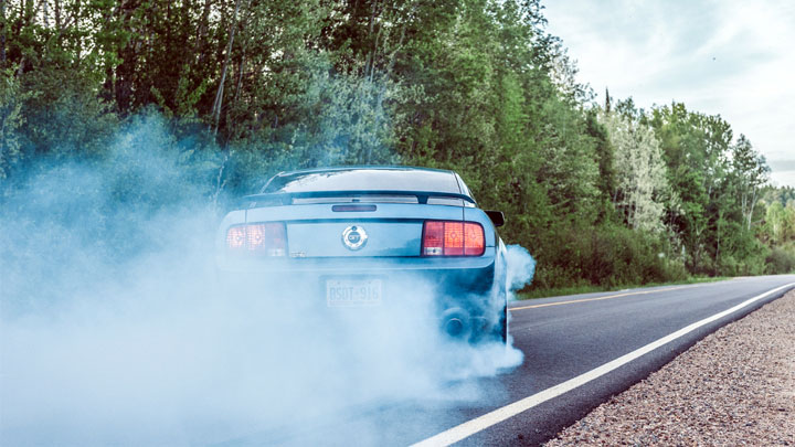 Mustang V8 power