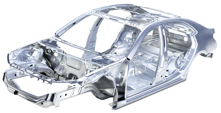 what is a car frame