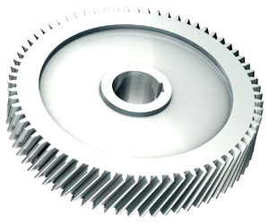 what is a helical gear